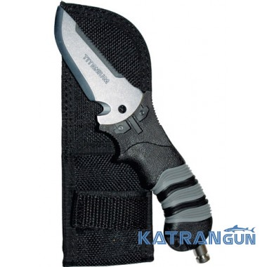 "Нож титановый Scubapro SK ""T"" Pocket Titanium"