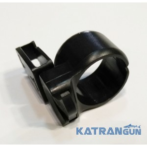 Тримач для трубки IST; пластиковий; круглий