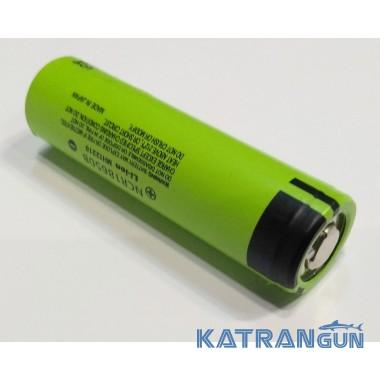 Аккумулятор для подводного фонаря 18650 Panasonic, 3400 mA/h, без платы защиты
