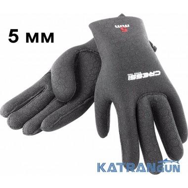 Перчатки для дайвинга и охоты Cressi-Sub High Stretch, 5mm