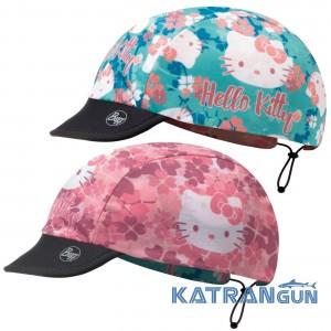 Двостороння кепка для дівчинки BUFF HELLO KITTY CAP