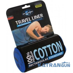 Вкладыш в спальник Sea To Summit Cotton Liner Traveller
