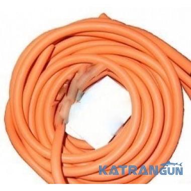 Латексная тяга BS Diver 16 мм; прозрачный натуральный латекс в оранжевом чулке