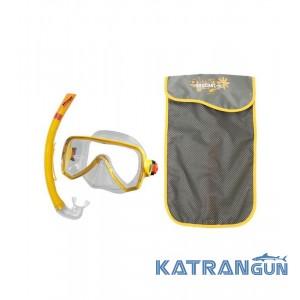 Набор для плавания (маска+трубка) Beuchat Oceo 8-12