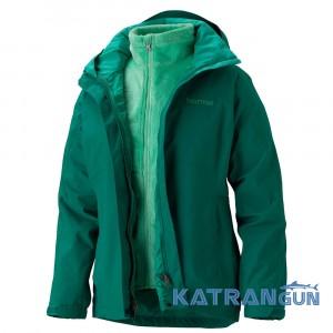 Штормовая куртка с флисом Women's Cosset Component Jacket, Green Garnet