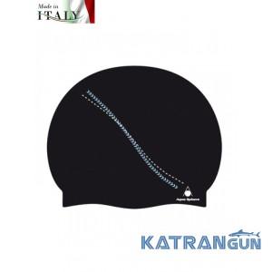 Шапочка для плавания мужская Aqua Sphere Dakota, black/blue