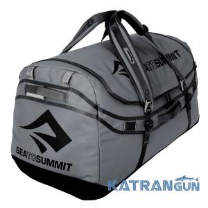 Вместительная сумка-рюкзак для путешествий Sea To Summit Duffle 45л Charcoal