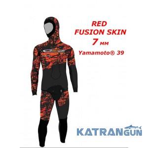 Гідрокостюм для полювання Epsealon Red Fusion Skin 7 мм