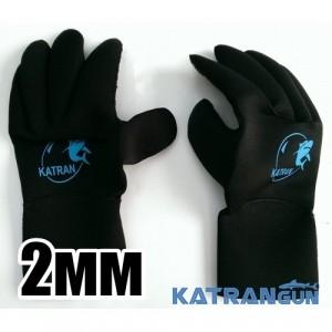 Перчатки KatranGun Hunter, 2 мм, нейлон/нейлон