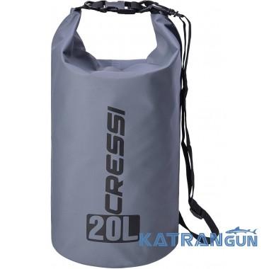 Гермомішок для підводного полювання Cressi Sub Dry Bag Grey 20 л