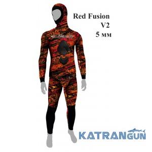 Гидрокостюм летний Epsealon Red Fusion V2 5 мм