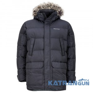 Утеплена куртка Marmot Men's Steinway Jacket, Black