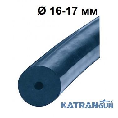 Тяга латексна Salvimar на метраж клас A; 16 ~ 17 мм; S-400; синя
