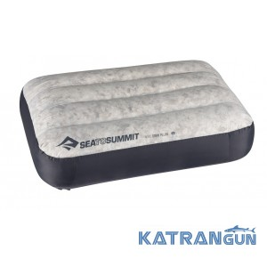 Пуховая подушка Sea To Summit Aeros Down Pillow Grey
