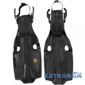 Ласты для дайвинга Poseidon Sport Fin; черные