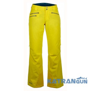 Технічні зимові штани Marmot Women's Slopestar Pant, Yellow Vapor