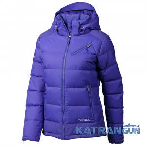 Водонепроницаемый пуховик Marmot Women's Sling Shot Jacket 76200, Blue Dusk/Gemstone