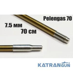 Гарпун різьбовий розжарений Pelengas Sandvik; 7,5 мм; 700 мм; під Pelengas 70