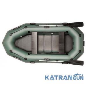 Надувні човни Bark B-280PD, пересувні сидіння
