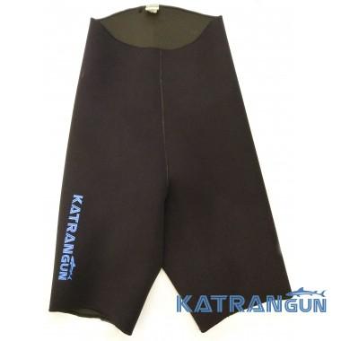 Неопреновые шорты для подводной охоты KatranGun Pro 3 мм; нейлон/открытая пора