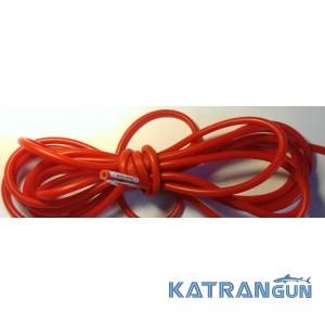 Латексная трубка для слингов, бандажей в бухтах BS Diver (на метраж); 9 мм на 5 мм; красная