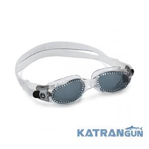 Окуляри для басейну Aqua Sphere Kaiman, dark lens / transparent
