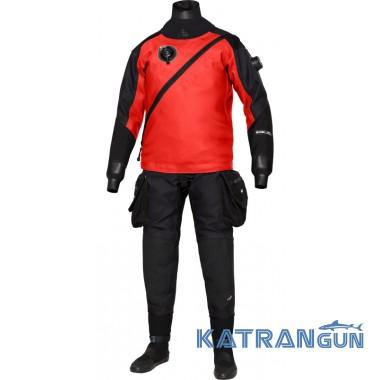 Прочный гидрокостюм для дайвинга Bare HDC Expedition RED