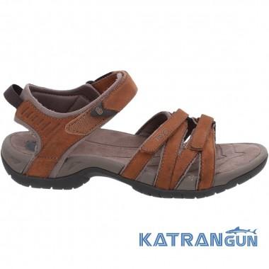 Практичные кожаные сандалии Teva Tirra Leather W's