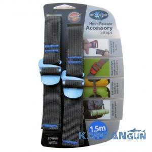 Стяжний ремінь Sea To Summit Accessory Strap With Hook Buckle 20мм (1,5)