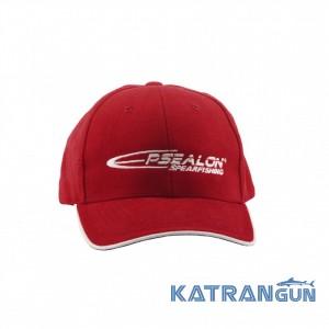 Бейсболка с логотипом Epsealon; красная