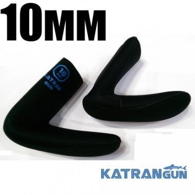 Шкарпетки для підводного полювання KatranGun Hunter Pro Anatomic 10 мм; нейлон / відкрита пора