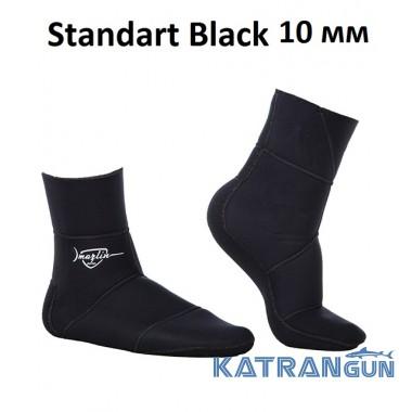 Носки неопреновые Marlin Standart 10 мм