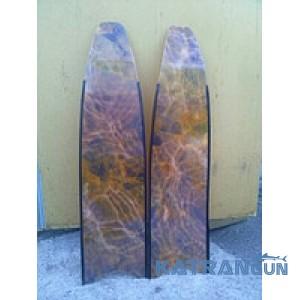 Лопасти стеклопластиковые Leaderfins Stereoblades Waves Brown Camo