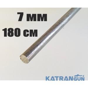 Прут калёный Salvimar 7 мм; сталь Sandvik; длина 180 см