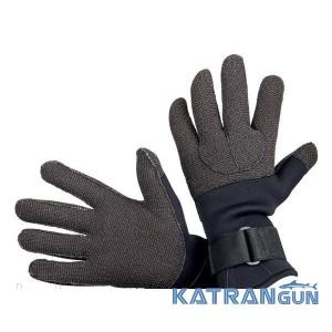 Кращі рукавички для підводного полювання AquaLung Kevlar, 5 мм
