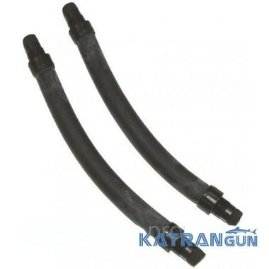 Резиновые тяги для подводных арбалетов Beuchat парные, черные, 16 мм, длина 13 см
