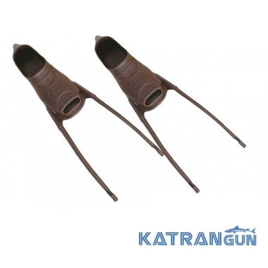 Калоши для ласт Omer Stingray TPR brown (пара)