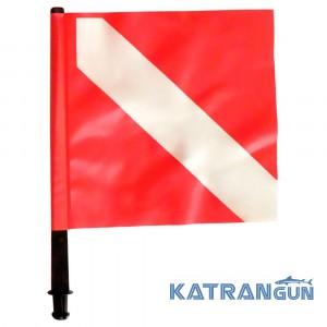 Прапор для буя червоний Epsealon Fox
