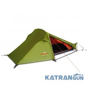 Туристическая палатка Pinguin Echo 2, Green