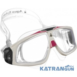 Женские очки для плавания Aqua Sphere Seal 2.0 Lady, линзы прозрачные