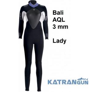 Гідрокостюм жіночий Aqua Lung Bali AQL 3 мм