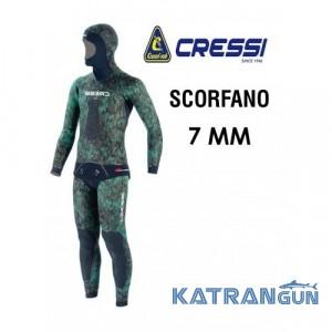 Гідрокостюм неопреновий Cressi Sub Scorfano 7 мм