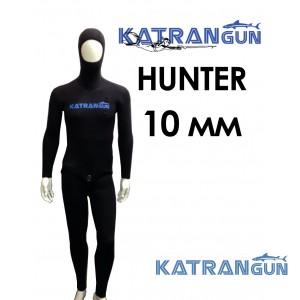 Гидрокостюм для подводной охоты KatranGun Hunter 10 мм; короткие штаны