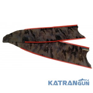 Лопаті склопластикові Leaderfins Stereoblades Waves Alga Brown (коричневі)