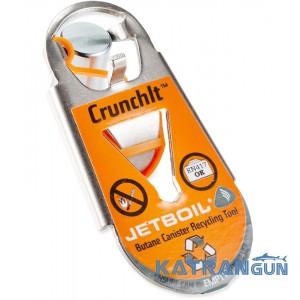 Інструмент для утилізації газових балонів Jetboil CrunchIt ™ Fuel Canister Recycling Tool