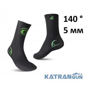 Носки неопреновые Omer 140° 5 мм