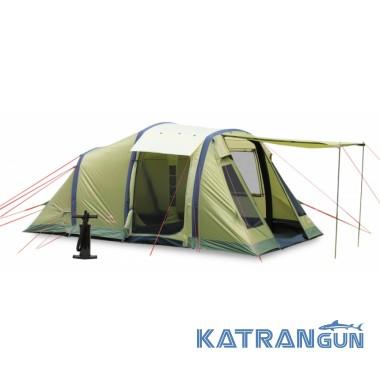 Палатка кемпинг Pinguin Interval 4 Airtube