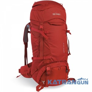 Женский туристический рюкзак Tatonka Karas 50 +10 Woman Redbrown