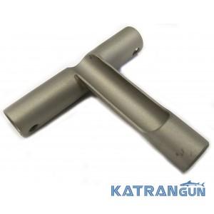 Безопасная заряжалка для гарпуна KatranGun для зарядки левой рукой