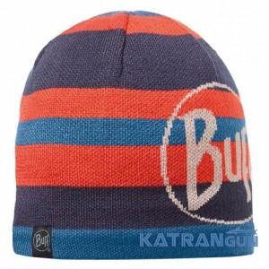 Винтажная вязаная шапка BUFF KNITTED & POLAR HAT OVEL